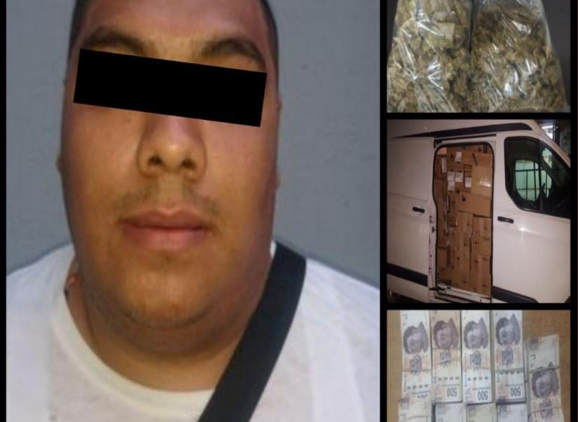 Aseguran camioneta con casi tres mil celulares robados, en Tepito; hay un detenido