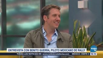Charlando con el piloto mexicano de rally Benito Guerra