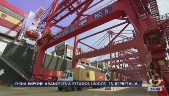 China Aplica Represalia Comercial Contra Eu