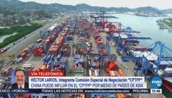 China puede influir en el CPTPP a través de países de Asia