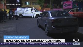 Cinco personas mueren en diferentes puntos de la CDMX