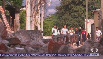 Civiles reconstruyen La Nopalera, comunidad de Morelos afectada por sismo 19S