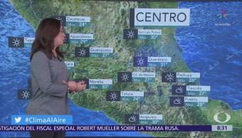 Clima Al Aire: Prevalecerá ambiente caluroso en la Ciudad de México