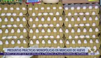 Cofece encuentra elementos para declarar posibles prácticas monopólicas en mercado del huevo