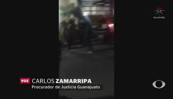 Comando armado irrumpe en palenque de Guanajuato
