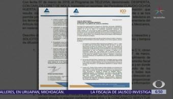 Concanaco no ha difundido documentos tras reportaje de 'Despierta' que destapó desvío de recursos