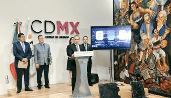 Funcionarios de la CDMX hablan de manifestaciones, seguridad y agua