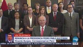 Congreso peruano aceptará renuncia de Kuczynski