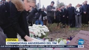 Conmemoran Aniversario 11m España