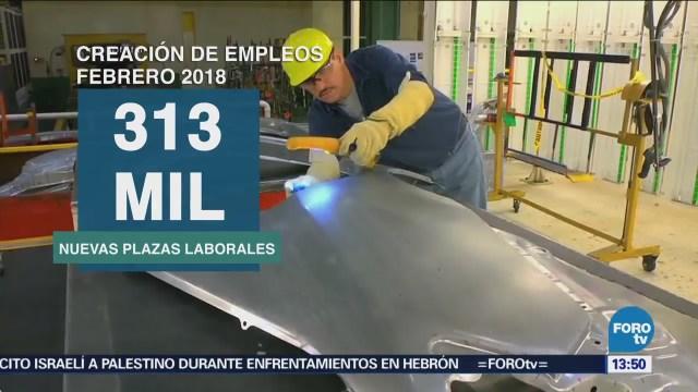 Creación Empleo Estados Unidos Avanza Febrero