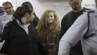 Ocho meses prisión joven palestina golpear soldado israelí