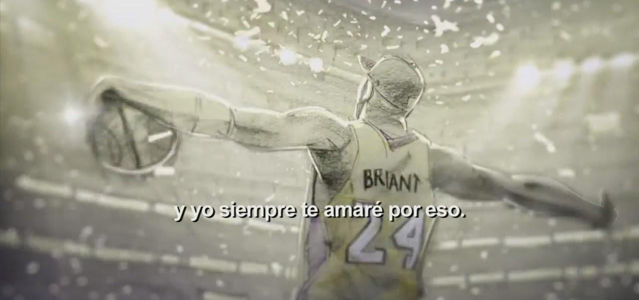 """Dear basketball"", el cortometraje de Koby Bryant"