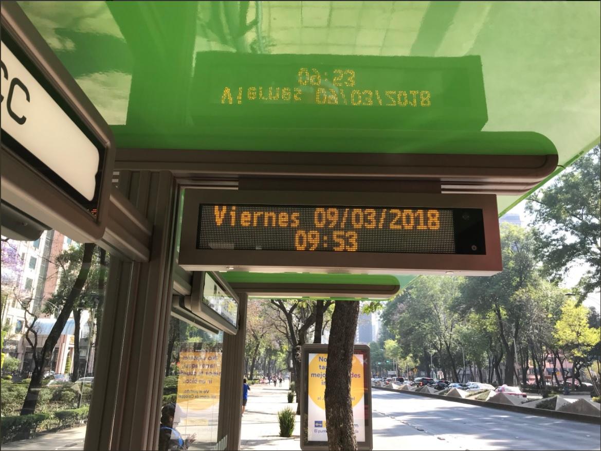 denuncian irregularidades en permiso publicitario de linea 7 metrobus