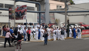 Fuga de gas falsa provocó desalojo en hospital del IMSS en Orizaba