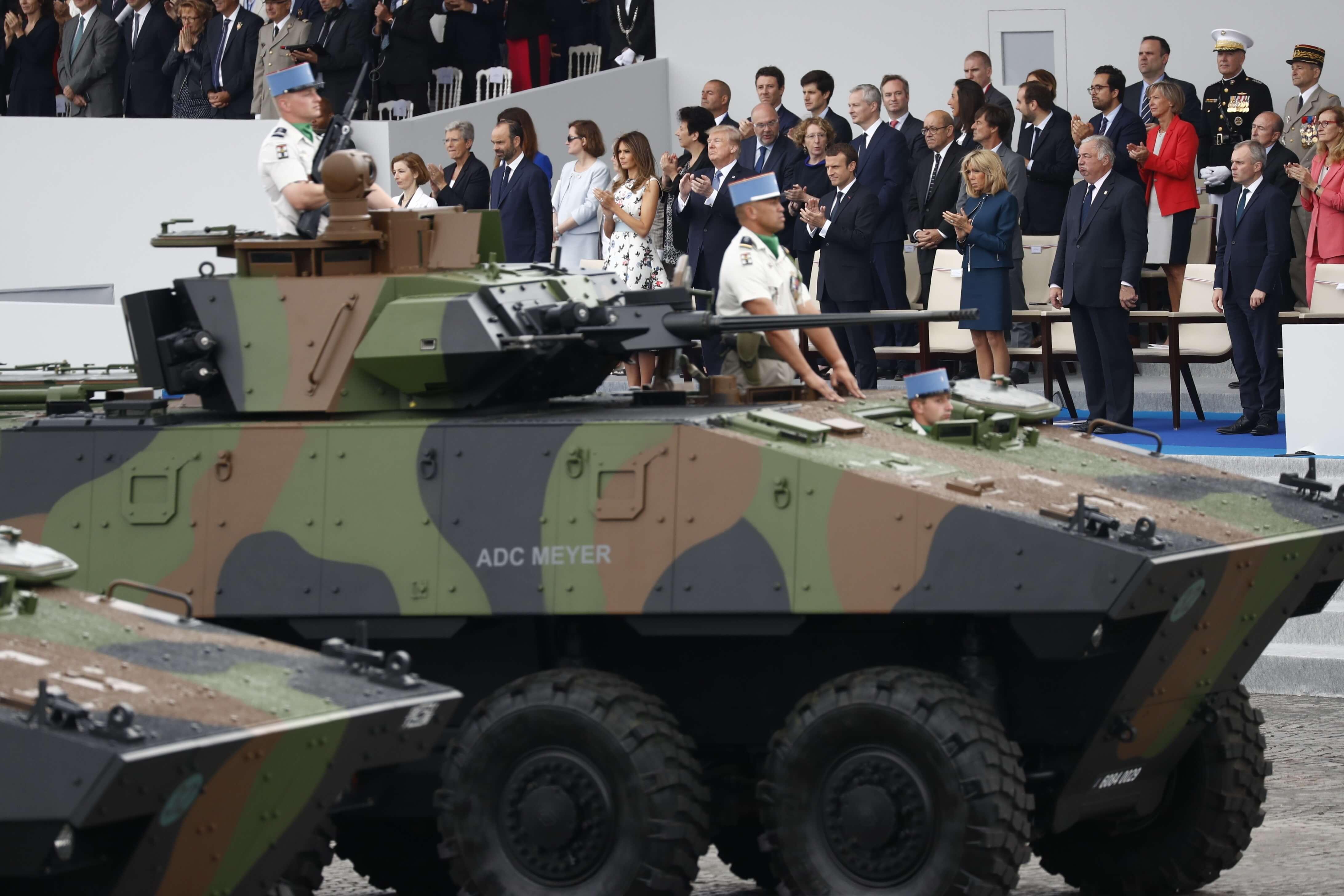 Preparan el desfile militar solicitado por Trump