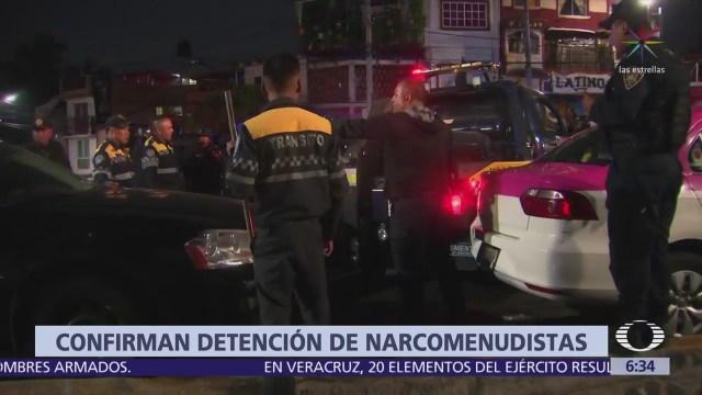 Desmantelan a banda de narcomenudistas en Magdalena Contreras, CDMX