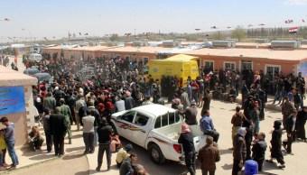 Desalojan a alrededor de 6,400 personas de Guta Oriental