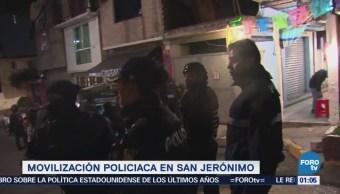 Detienen a 11 personas tras balacera en San Jerónimo