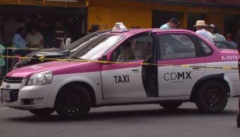 Muere un taxista tras riña de tránsito en Azcapotzalco, CDMX. (Noticieros Televisa)