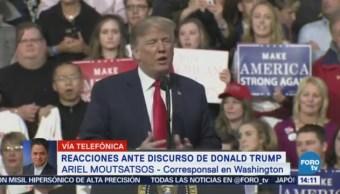 Discurso Trump Sobre Muro Causa Polémica Estados Unidos