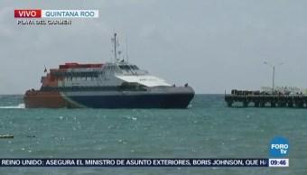 Dispositivos de seguridad aumentan en terminales marítimas de Q. Roo