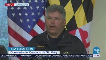 Dos heridos y un muerto deja tiroteo en escuela de Maryland