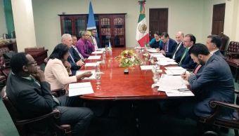 Videgaray Caso realiza una gira de trabajo al Caribe