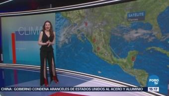 Clima A Las Tres Mayte Carranco Prevén Temperaturas Máximas