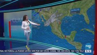 El Clima A Las Tres Mayte Carranco Nuevo Frente Frío