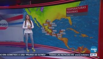 El clima de 'En Una Hora' con Mayte Carranco