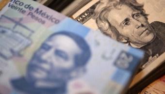 El dólar abre en 19.14 pesos a la venta