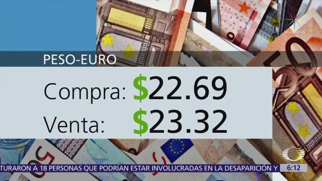 El dólar se vende en $19.00