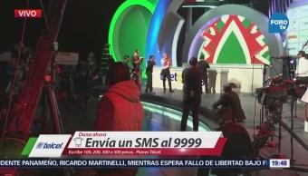 El Frontón México escenario de estrellas para el Teletón