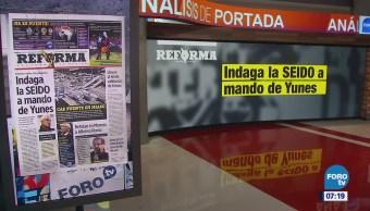 El impacto en las portadas de los principales diarios