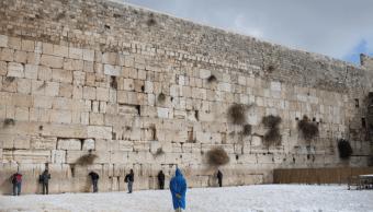 El Muro de los lamentos, en Jerusalén