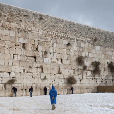 El Muro de los lamentos, lugar sagrado en Jerusalén