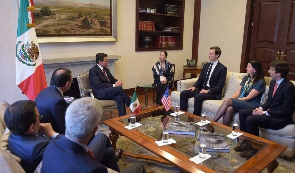 Peña Nieto y Kushner entendimientos benéficos para ambas naciones