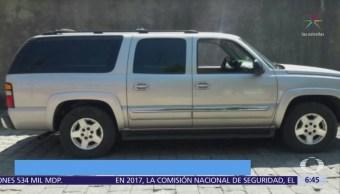 Encuentran 5 cadáveres dentro de camioneta en Michoacán