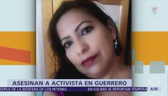 Encuentran cuerpo de la activista María Luisa Ortíz Arenas en Guerrero