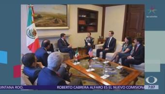 Enrique Peña Nieto recibe a Jared Kushner en Los Pinos