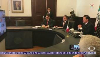 EPN conversa en videoconferencia con mandatarios de la Alianza del Pacífico
