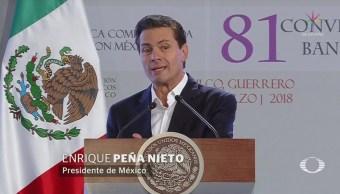 EPN inaugura la Convención Nacional Bancaria