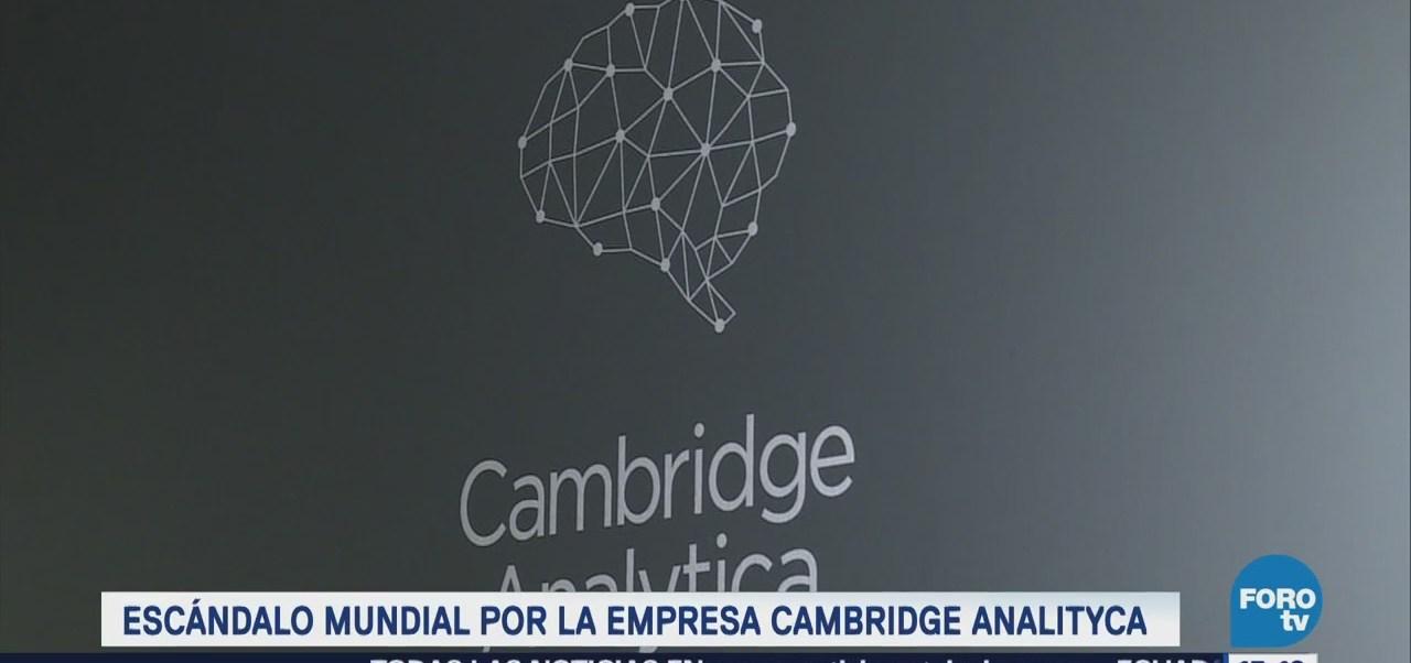Escándalo Mundial Empresa Cambridge Analytica