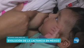 Evolución de la lactancia materna en México