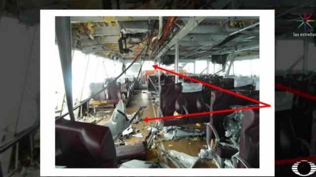 Explosión de ferry en Quintana Roo fue provocada por explosivo improvisado