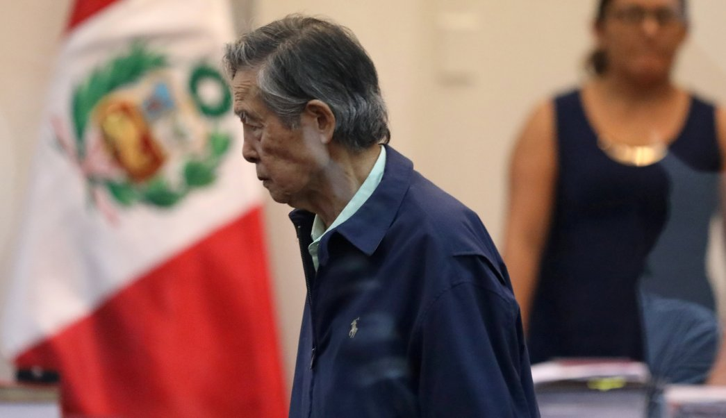 Expresidente Fujimori testifica juicio secuestro periodista