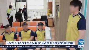 Extra Extra: Joven sube de peso para no hacer el servicio militar