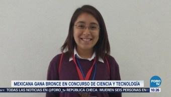 Extra Extra: Mexicana gana bronce en concurso de ciencia y tecnología