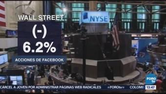 Facebook Arrastra Operaciones Wall Street