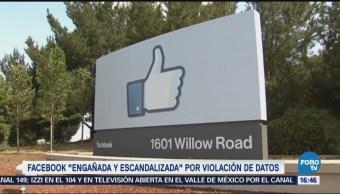 Facebook, Escandalizada Filtraciones Empresa